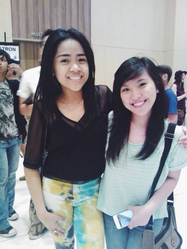 With camille