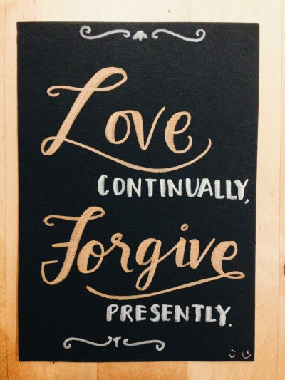 The Struggle Is Real: Forgiving, but notForgetting